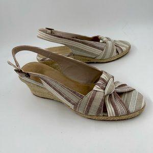 Bella Vita Seraphina Slingback Espadrille Sandals